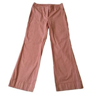 Striped, wide leg pants by Moda International. 10